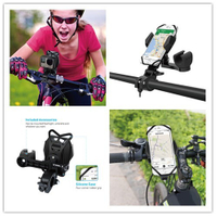 Universal Quick Release Bicycle Bike Phone Mount for Iphone