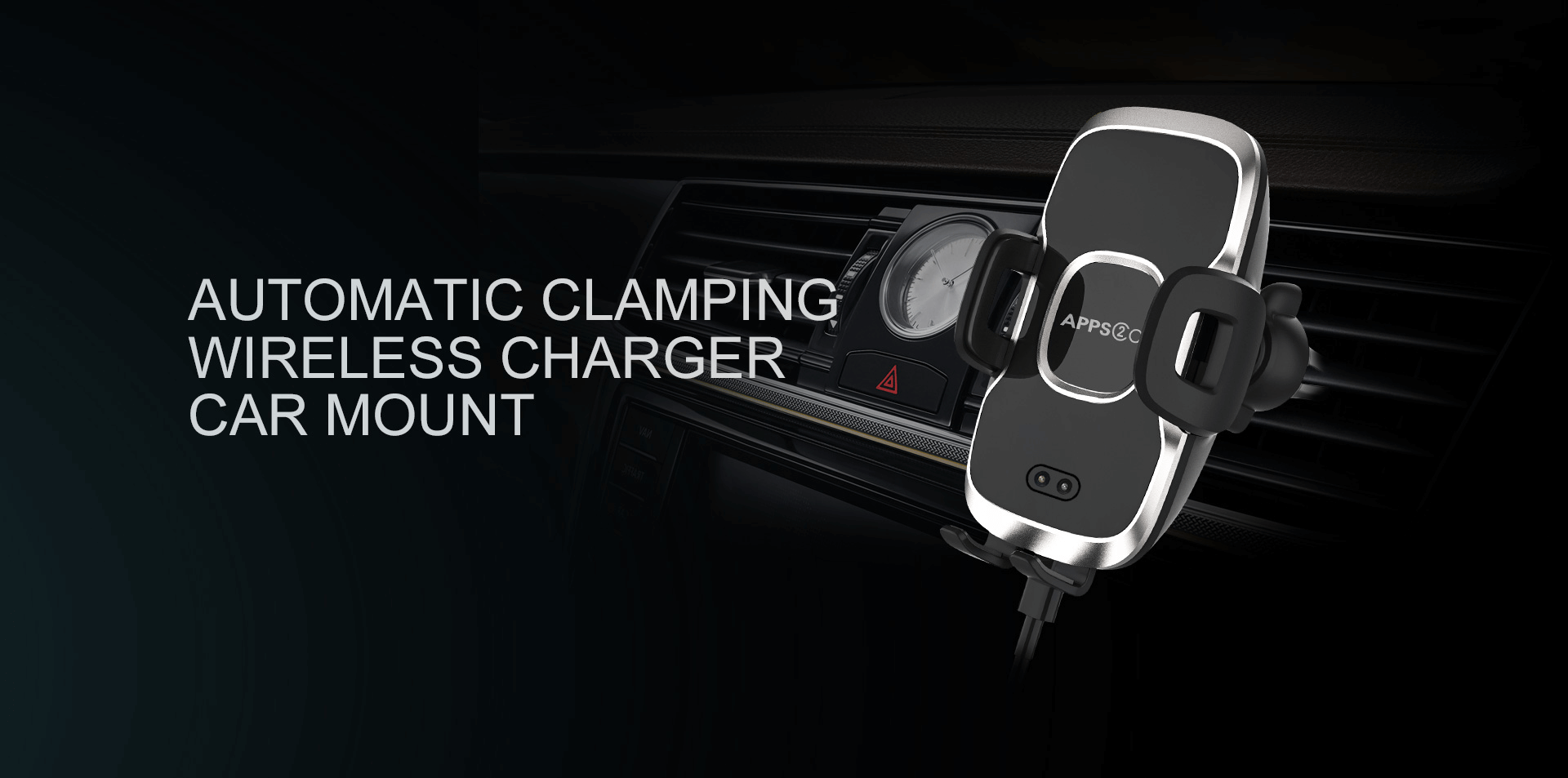 wireless charging mount for car