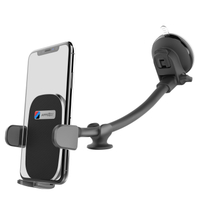 Long Arm Anti-shake Dashboard Windshield Car Phone Mount Stand for Iphone Xs Samsung
