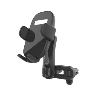 Universal Dual Air Vent Mobile Cell Stand Gravity Car Mount Phone Holder