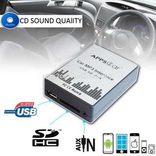 Iphone Wireless Bluetooth Car Usb Music Adapter for Old Car Stereo